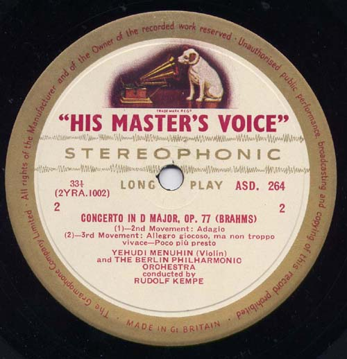 Glaspole Records Long Playing And 78rpm Classical